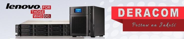 Serwery Lenovo Fujitsu HP Dell Actina w DERACOM Wyszków