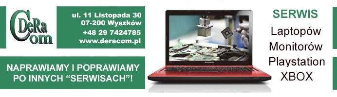 Serwis Laptopów w Wyszkowie DERACOM